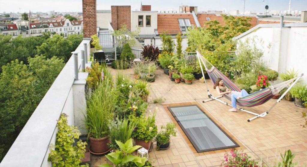 Roof Garden di Rumah